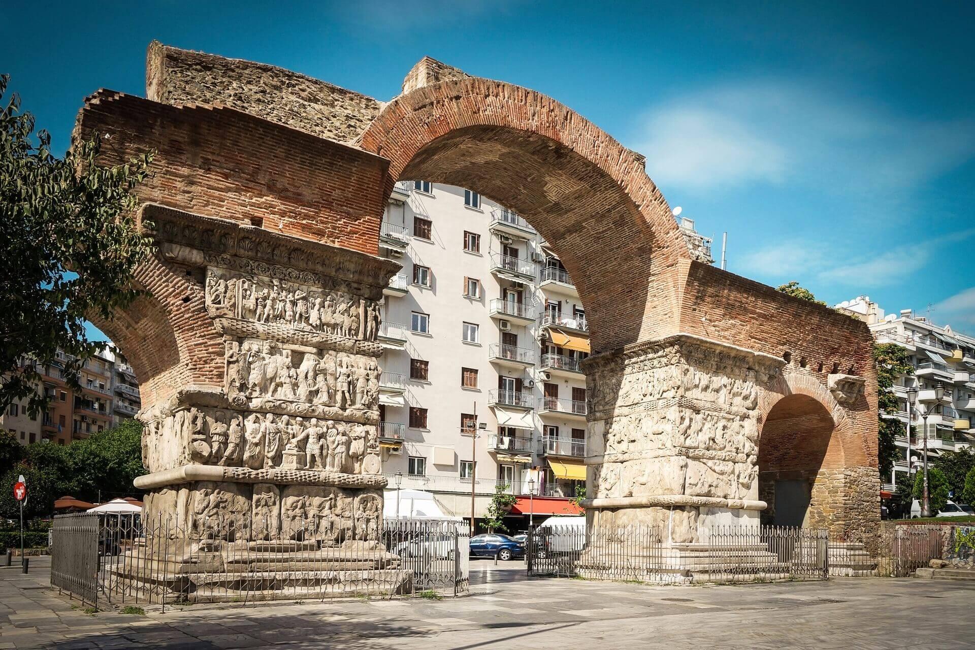 Αψίδα του Γαλέριου - Αρχαιολογικοί Χώροι Θεσσαλονίκης