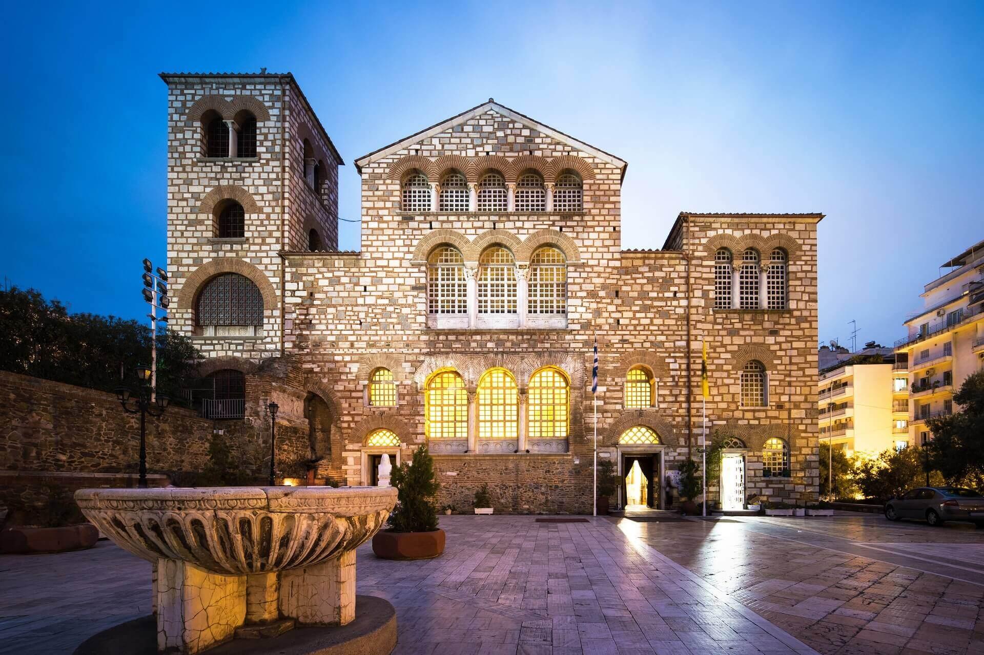 Βυζαντινές Εκκλησίες - Αρχαιολογικοί Χώροι Θεσσαλονίκης
