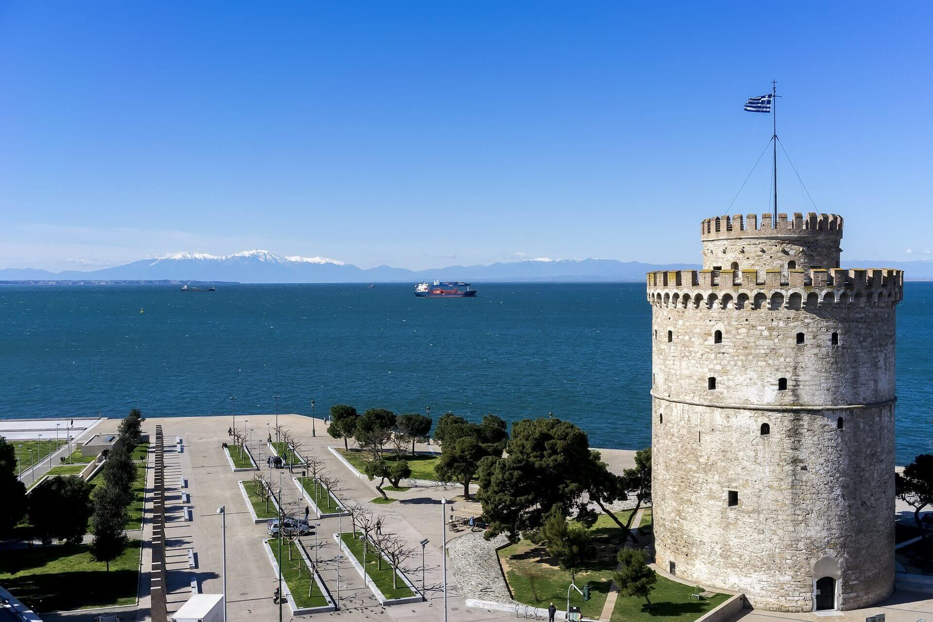 Λευκός Πύργος - Αρχαιολογικοί Χώροι Θεσσαλονίκης