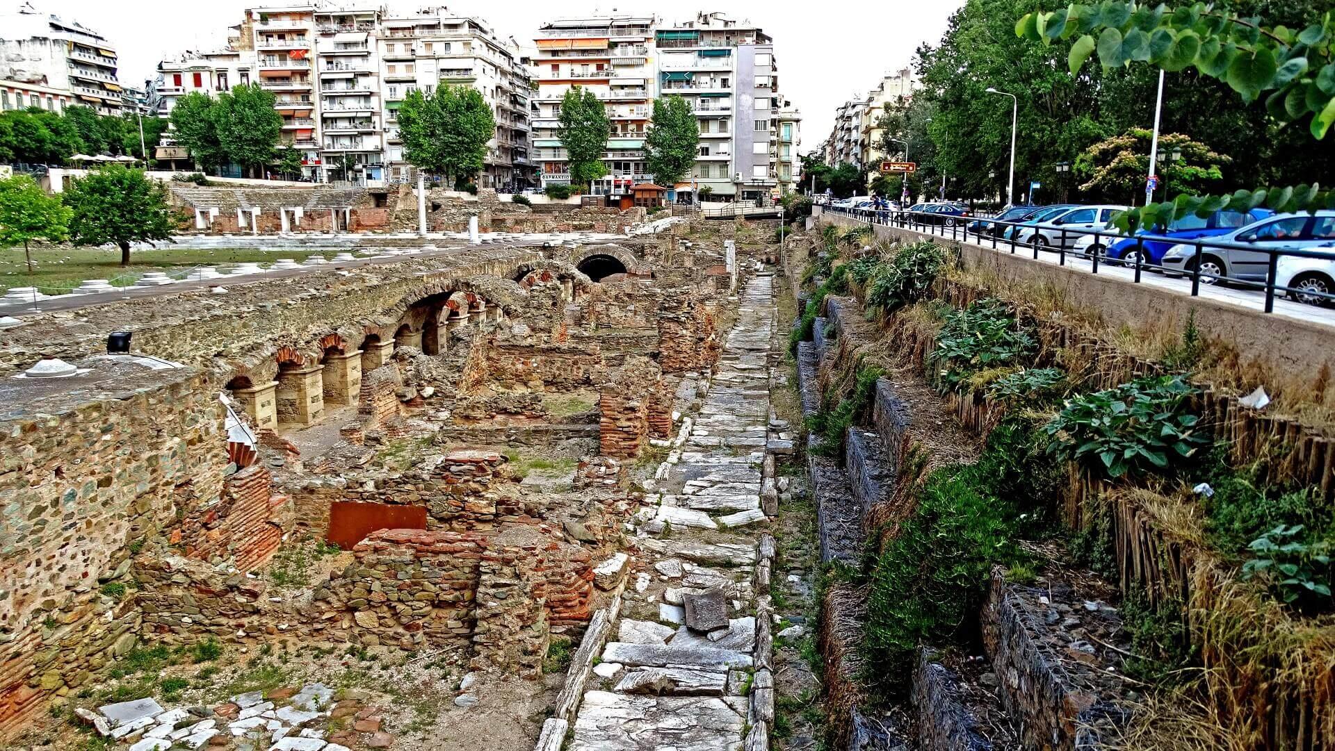 Ρωμαϊκή Αγορά της Θεσσαλονίκης - Αρχαιολογικοί Χώροι Θεσσαλονίκης