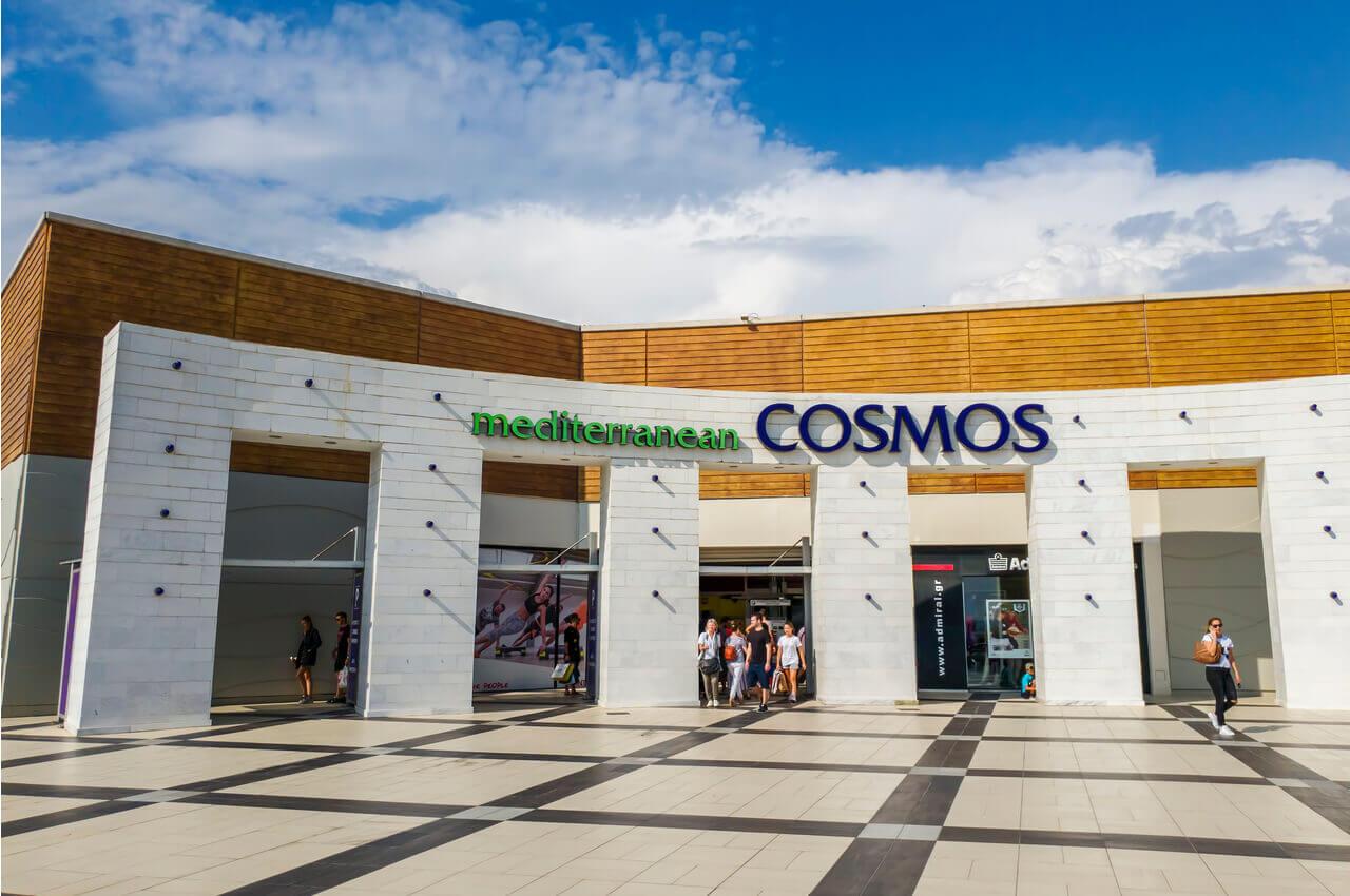 Εκδρομή στη Θεσσαλονίκη με παιδιά - Επίσκεψη στο εμπορικό κέντρο Mediterranean Cosmos - Alpha Drive Rent a Car