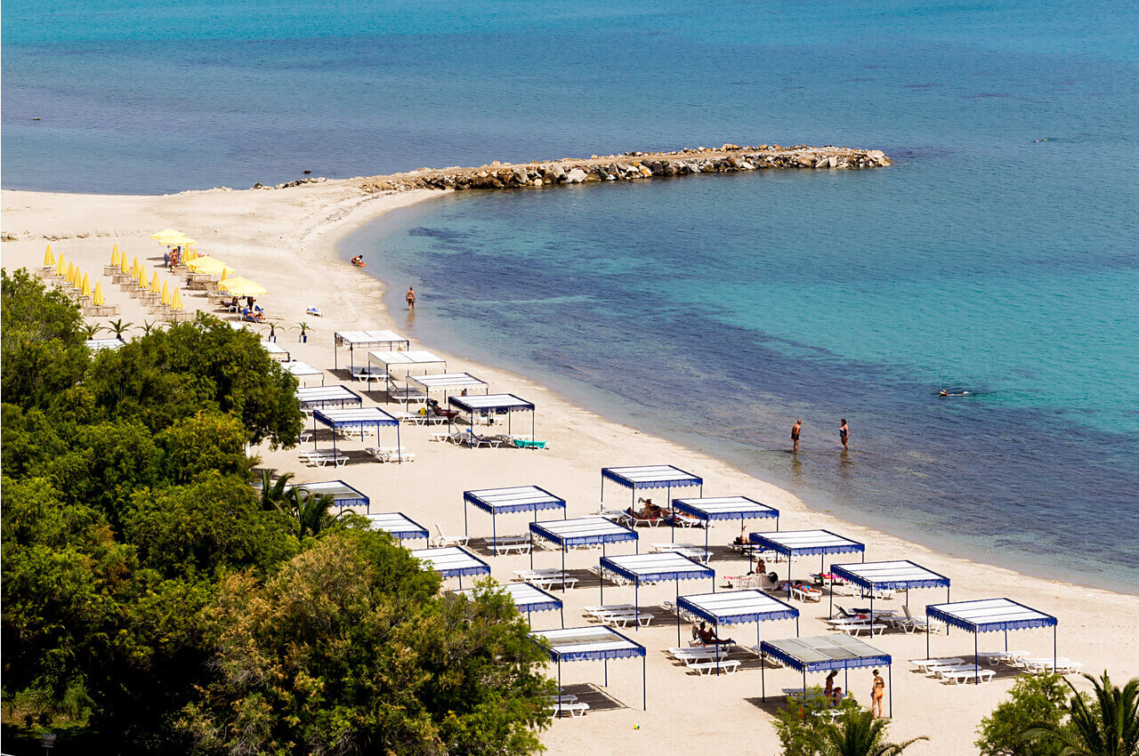 Καλλιθέα Χαλκιδικής-παραλίες Καλλιθέας-alpha drive rent a car